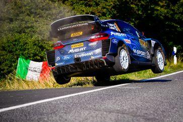 Ford Fiesta WRC-Pilot Teemu Suninen.