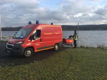 Foto: Feuerwehr Bochum / Tierrettung Kemnader See