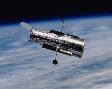Weltraumteleskop Hubble Quelle: Foto: STScI and NASA (idw)