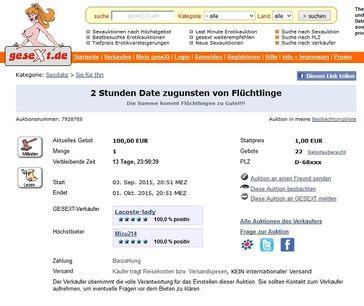 Bild: Screenshot gesext.de