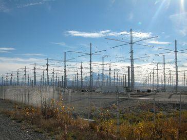 Antennenfeld von HAARP