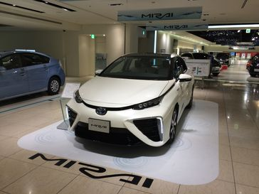 Brennstoffzelle: Toyota Mirai