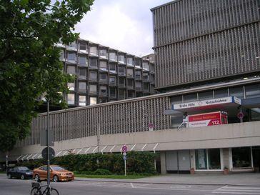 Notaufnahme des Universitätsklinikums Benjamin Franklin, Berlin