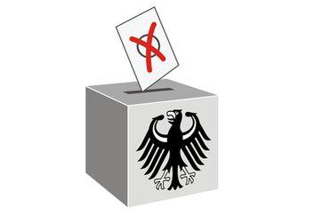 Wahl, Wahlurne, Stimmabgabe, Wahlumfrage (Symbolbild)