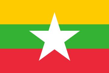 Flagge von Myanmar