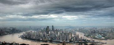 Die chinesische Stadt Chongqing