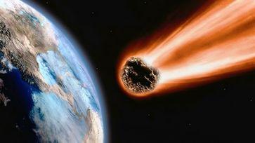 Meteorit (Symboldbild)