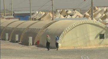 Flüchtlingzelte, syrischer Flüchtlinge, in der Türkei im September 2012