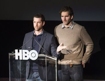 Game of Thrones: Die Produzenten D. B. Weiss (links) und David Benioff (rechts)