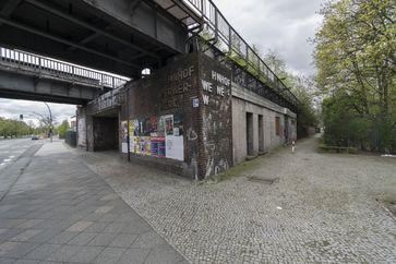 Siemensbahn: Bahnhof Wernerwerk (2017)