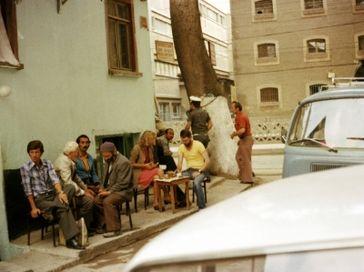 Türken bei der Kaffepause