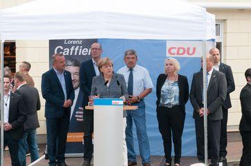 Lorenz Caffier (2016) in der Mitte