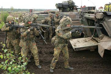 Abgesessene Gruppe Panzergrenadiere