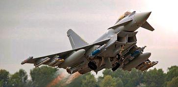 Airbus Military: Der Eurofighter Tyhpoon (Symbolbild) - Neue Kriegsflugzeuge braucht die EU, nur wozu?