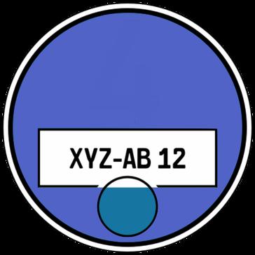 Blaue Plakette