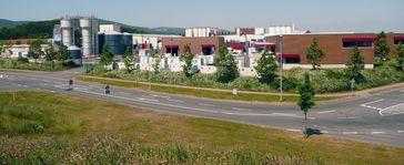 Brauerei-Gebäude am westlichen Ortseingang von Wernigerode
