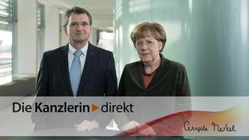 """Screenshot aus dem Youtube Video """"Merkel: Standards für """"Industrie 4.0"""" entwickeln"""""""