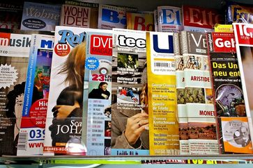 Zeitschriften Prospekte