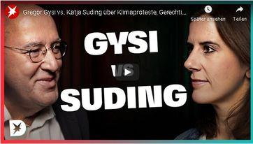 "Bild: Youtube Video: ""Gregor Gysi vs. Katja Suding über Klimaproteste, Gerechtigkeit, Lügen in der Politik | DISKUTHEK"" / Eigenes Werk"