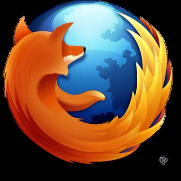 Logo von Mozilla Firefox ab Version 3.5