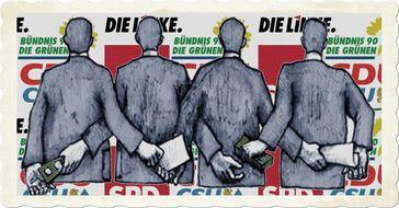 Die Anti-Lobbygesetze sind so gut geschrieben, sie könnten glatt von Lobbyisten stammen. Dafür kasiert der Bundestag sogar eine Rüge aus dem Europarat (Symbolbild)