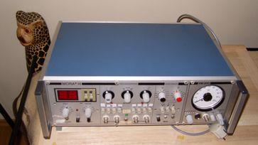 Ein altes MORA III - Das waren noch Zeiten als Geräte offline und damit unangreifbar von außen waren...