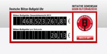 """Gemeinsam gegen Blitzerabzocke - bundesweite Initiative gegründet Bild: """"obs/Initiative gemeinsam gegen Blitzerabzocke"""""""