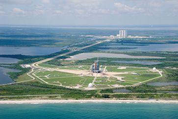 Weltraumbahnhof (Symbolbild)