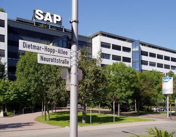 SAP-Firmenzentrale in Walldorf