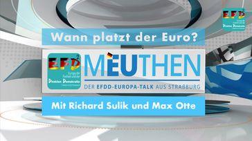 Der Euro wird immer mehr zur Gefahr – Jörg Meuthen, Richard Sulik und Max Otte diskutieren über die Probleme und Lösungen.