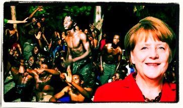 """Mittelmeermigranten reden Klartext: """"Angela Merkel ist die Mama aller Afrikaner"""""""