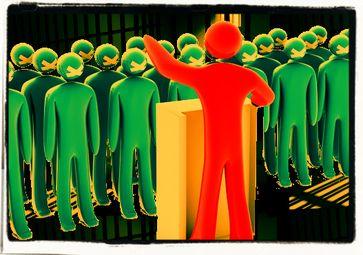 Bürger sollen ausschließlich den Befehlen und Anordnungen von Politikern gehorchen? (Symbolbild)