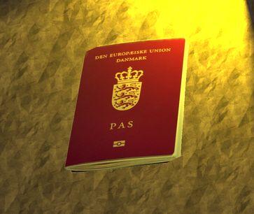 Dänischer Ausweis (Symbolbild)