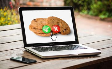 Cookie Webseite