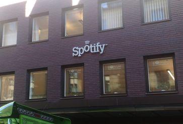Spotify-Hauptquartier in Stockholm