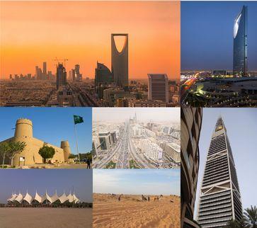 Riad (arabisch الرياض, DMG ar-Riyāḍ 'die Gärten') ist die Hauptstadt des Königreichs Saudi-Arabien und der gleichnamigen Provinz.