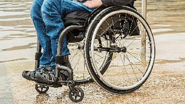 Rollstuhl / Behindert (Symbolbild)