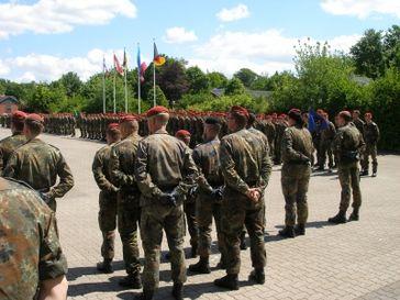Soldaten (Symbolbild)