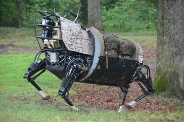Militärrobote: Prototyp des Legged Squad Support Systems