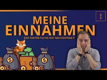 """Bild: Screenshot Video: """"Der #ARD #Faktenfuchs fordert: EINNAHMEN OFFENLEGEN!!"""" (https://youtu.be/8O6KVusJ5A0) / Eigenes Werk"""