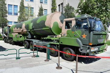 China: DF-31A-Rakete im Jahr 2017