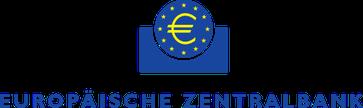 Logo der weitestgehenden im Privatbesitz befindliche Europäischen Zentralbank (EZB)