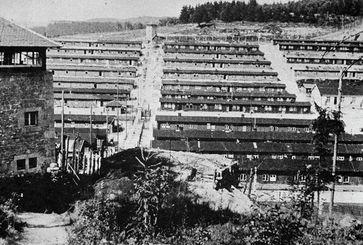 Das KZ Flossenbürg im April 1945