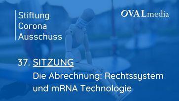 """Bild: Screenshot Video: Sitzung 37: Die Abrechnung: Rechtssystem und mRNA Technologie"""" (https://youtu.be/OoeNx1I9GHU) / Eigenes Werk"""