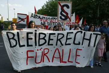 Abschiebung: Demonstration für ein Bleiberecht aller Ausländer