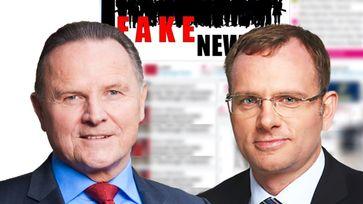 Georg Pazderski, stellvertretender AfD-Bundessprecher und Vorsitzender der AfD-Fraktion im Berliner Abgeordnetenhaus; Dirk Spaniel, Abgeordneter der AfD-Bundestagsfraktion (2018)