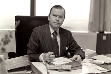Karl Günther von Hase. (1977) Bild: ZDF Fotograf: Georg Meyer-Hanno