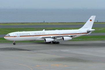 """A340 als """"Theodor Heuss"""""""