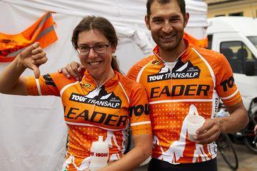 Die österreichischen Mixed-Team Anna Kiesenhofer und Günther Flatscher.