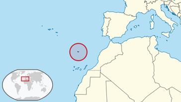 Lage von Madeira